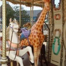 Fairground Giraffe