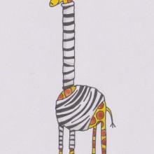 Undercover Giraffe by Sara