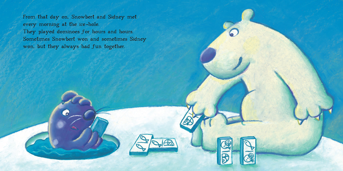 Snowbert the Polar Bear illustration