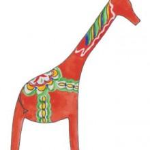 svensk giraff by Sara