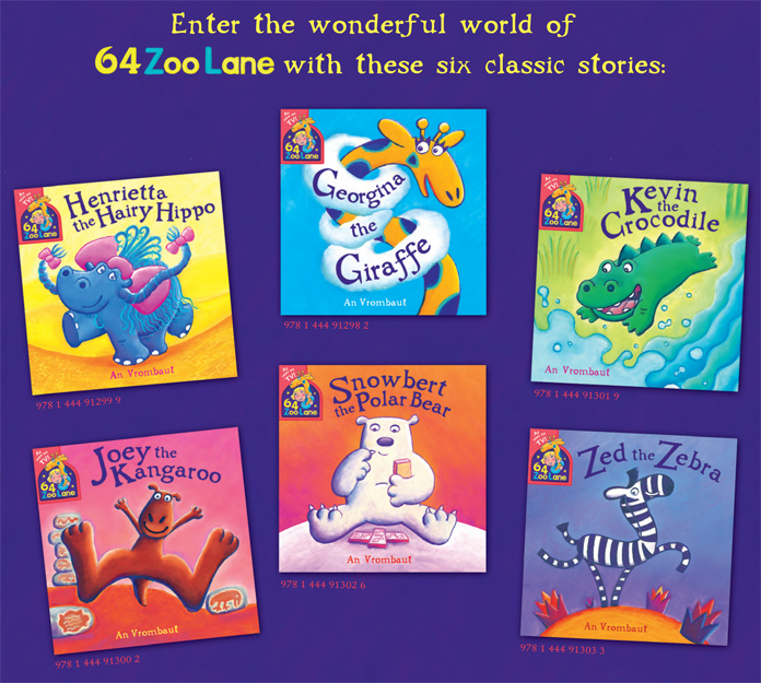 64 Zoo Lane books