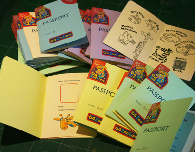 64 Zoo Lane passports